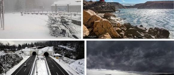 Pratili smo UŽIVO ciklonu Antonela: Bivši uragan donio poplave, snijeg i orkanske udare vjetra (FOTO, VIDEO)