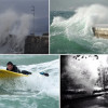 Ciklona Benjamin: Visoki valovi na Jadranu, u Senju 25°C, Slavonija pred apsolutnim temperaturnim rekordom (FOTO, VIDEO)