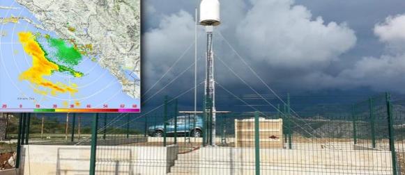 Pogledajte prvu radarsku snimku iz Dalmacije! (FOTO)