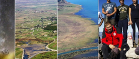 "Čarobni pogled s vrha Kamešnice: Dalmacija, Livanjsko polje, Buško blato kao na ""dlanu"""