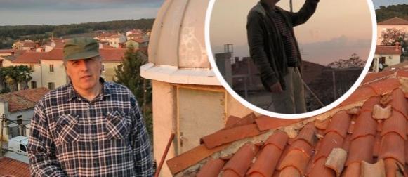 """Puštena u rad meteo postaja na zvjezdarnici Višnjan, uskoro i """"all sky"""" kamera (FOTO)"""