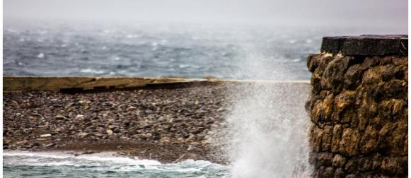 Fenomen: Kada se jugo i bura sudaraju u nekoliko metara! (FOTO)