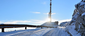 Snježne radosti na snijegom prekrivenim višim predjelima Biokova