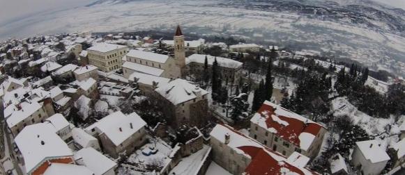 Pogledajte imotsku snježnu bajku snimljenu iz zraka (FOTO)