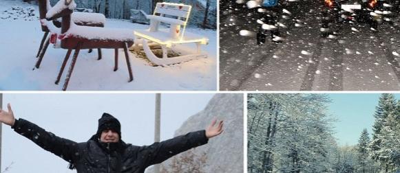 Pogledajte snježnu idilu koju je dijelovima zemlje donijela ciklona Hektor (FOTO)