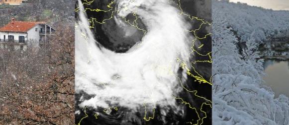Stiže jaka ciklona Ines: Nakon jutarnjih minusa, prve pahulje na zapadu zemlje (FOTO)