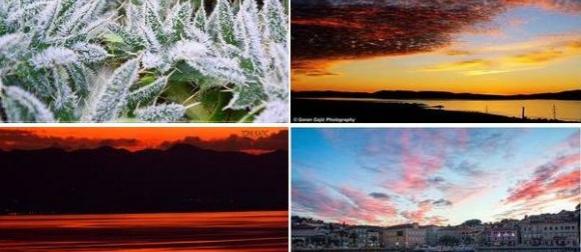 Hladno jutro u unutrašnjosti, mraz i u unutrašnjosti Istre i Dalmacije