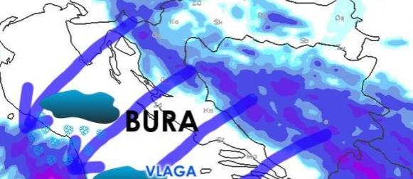 Ispod nule u Splitu nakon 651 dan, moguć snijeg na Palagruži, osjet hladnoće na Zavižanu -30°C (FOTO)