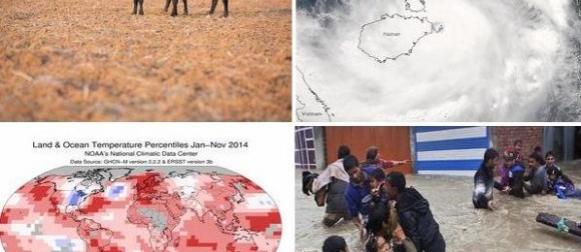 Top 10 meteoroloških događaja u svijetu u 2014. godini