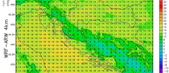 Prognoza za vikend: Osjetno toplije, južina, sve više oblaka, negdje i kiša