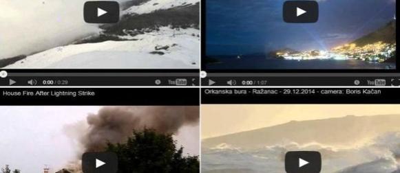 Top 10 meteoroloških videa u 2014. godini