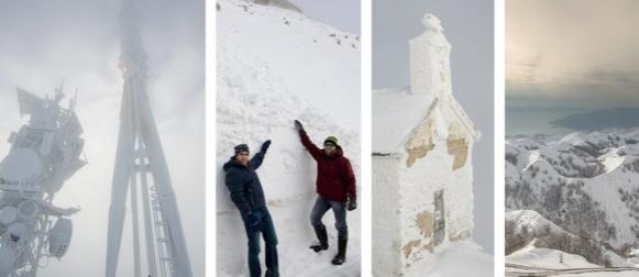 Pogledajte zimsku avanturu na zaleđene i snijegom zatrpane vrhove Biokova