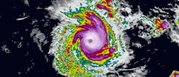 Eunice:  Tropski ciklon pete kategorije nad Indijskom oceanom