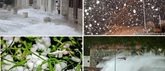 Olujna ciklona Mirjana: Ekstremno nizak tlak zraka ispod 975 hPa (FOTO, VIDEO)