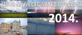 Stoljetne poplave na donjem dijelu toka rijeke Save : Najveći meteorološki događaj u Hrvatskoj u 2014. godini