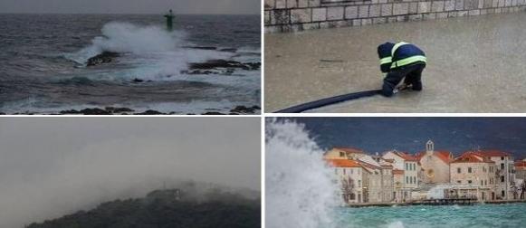 Vikend s ciklonom Kristina: Rekordna toplina, obilna kiša u Dalmaciji