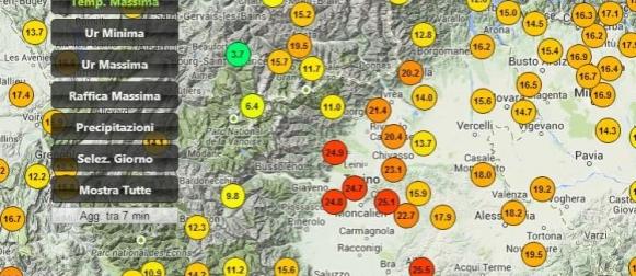 Rekordna toplina u Europi: Na sjeveru Italije  do 27°C