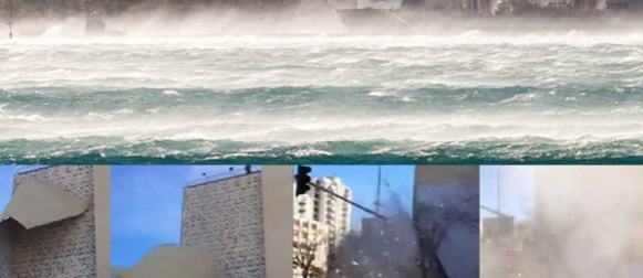 U Splitu najjača bura posljednjih 10 godina: 155 km/h i osjet hladnoće -10°C! (FOTO, VIDEO)