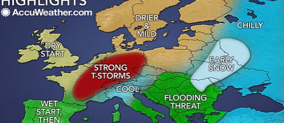 Accuweather objavio sezonsku prognozu za proljeće u Europi