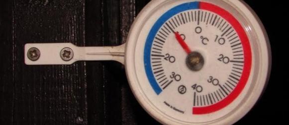 Ledeno jutro: Krasno, Crni Lug -16°C, Varaždin -15°C