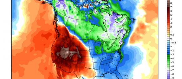 Temperaturni ekstremi  u Sjevernoj Americi