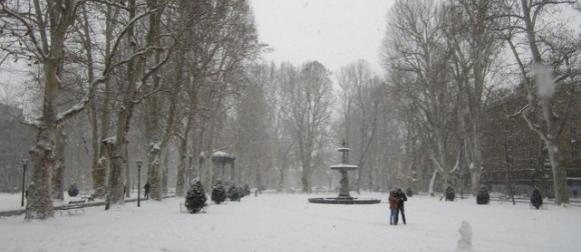 Snijeg u unutrašnjosti