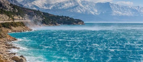 Jača promjena vremena na kopnu, blaža na Jadranu