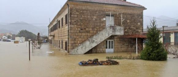 Ekstremna kiša: Makarska 305 mm , Dubrovnik 219 mm
