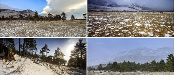 Pogledajte snježnu reportažu s Velikog Rujna na Velebitu