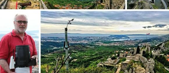 Meteorloški podaci i panoramska web kamera s kliške tvrđave – uživo!