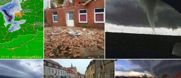 Sjever Njemačke pogodilo snažno nevrijeme s tornadom (FOTO, VIDEO)