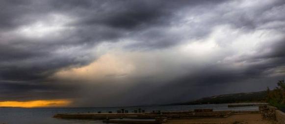 Ciklona Cvjetko: Obilna kiša, zahlađenje