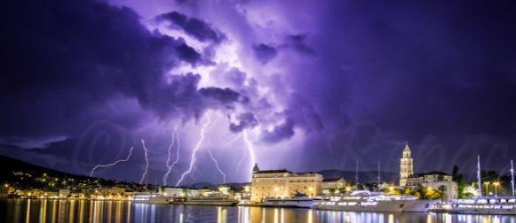 Vrućine traju…Nestabilnosti u Dalmaciji