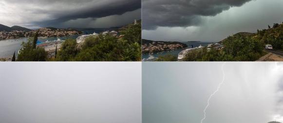 Ciklona Dominika obilježila prve dane kalendarskog ljeta