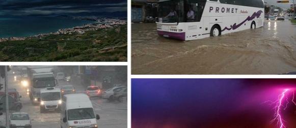 """""""Kilavo"""" ljeto: Nevrijeme potopilo dijelove Dalmacije, pred nama nekoliko hladnih jutara (FOTO)"""