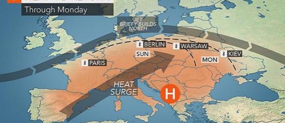 Novi val vrućina zahvaća Europu