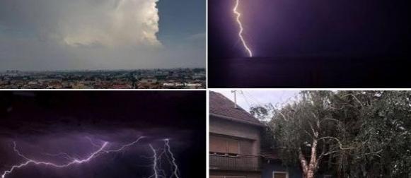Nestabilan početak kolovoza: U Osijeku palo 44.4 mm kiše
