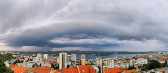 Slavonija najtoplija; Obilna kiša na Visu