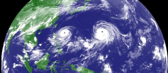 Tajfuni blizanci na Pacifiku: Atsani postao supertajfun