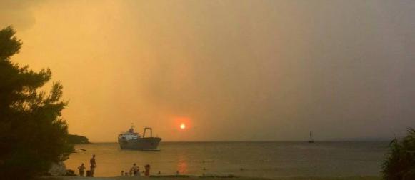 Kolovoški val vrućina: U Dalmaciji nevere i temperature do 38°C