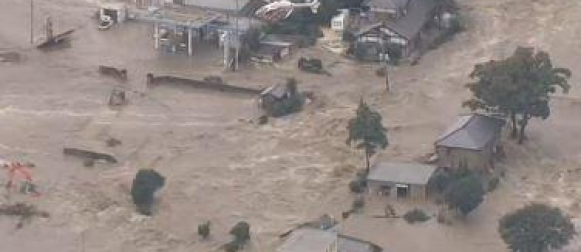 Tropska oluja Etau pogodila Japan: Ekstremne količine kiše, poplave i odroni