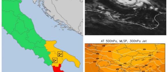 """Dalmaciju NEĆE pogoditi medicane, """"obična"""" ciklona donosi nevrijeme jugu Italije"""