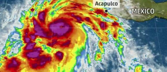 Čudovište prijeti Meksiku: Patricia rekordnom brzinom prerasla u uragan pete kategorije! (VIDEO)