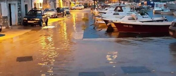 Šibenik već osigurao rekordno kišovit listopad
