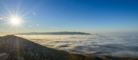 """Pogledajte očaravajuće prizore """"mora"""" magle u Dalmaciji"""