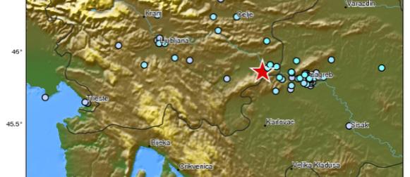 Potres jačine 4,8 Richtera u Sloveniji, osjetio se i u Hrvatskoj