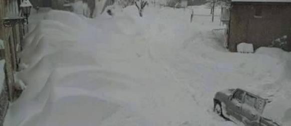 Obilan snijeg zatrpao središnju Italiju