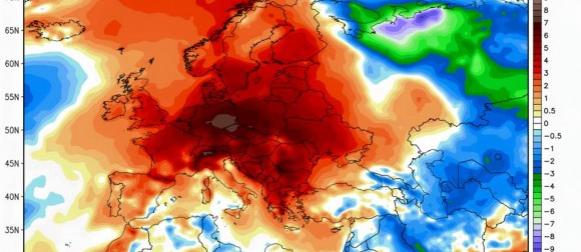 Topla prva polovica studenog u Europi