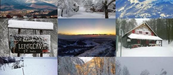 Planine pune snijega