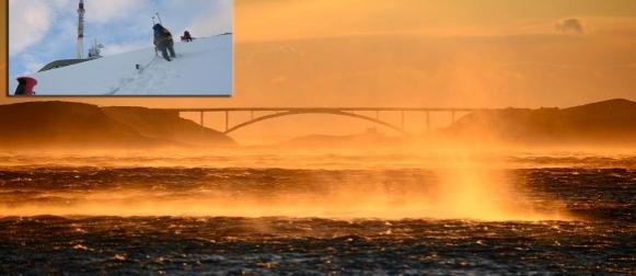 Bura i zahlađenje: Udari vjetra na Paškom mostu 168 km/h, Zavižan i Biokovo na -10°C